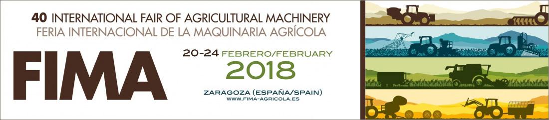 Banner 40 Feria Internacional de la maquinaría agrícola Fima 2018