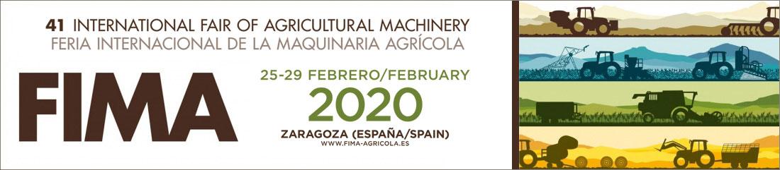 Banner Feria Internacional de la maquinaría agrícola Fima 2020